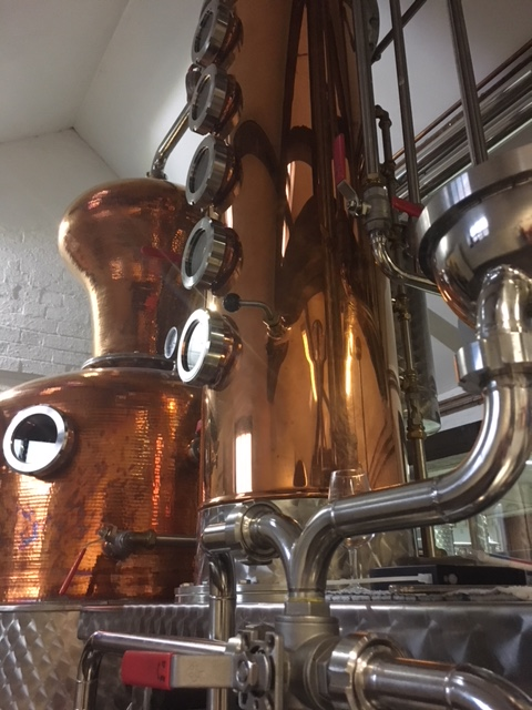 gin distillery orbital welded pipes