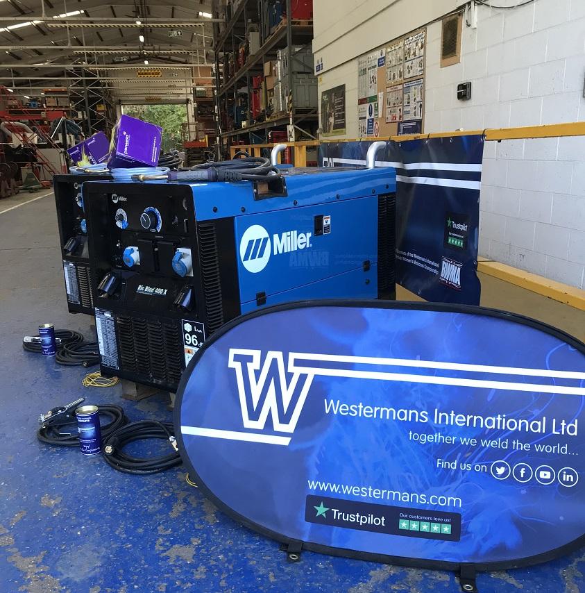 Miller Big blue diesel welder