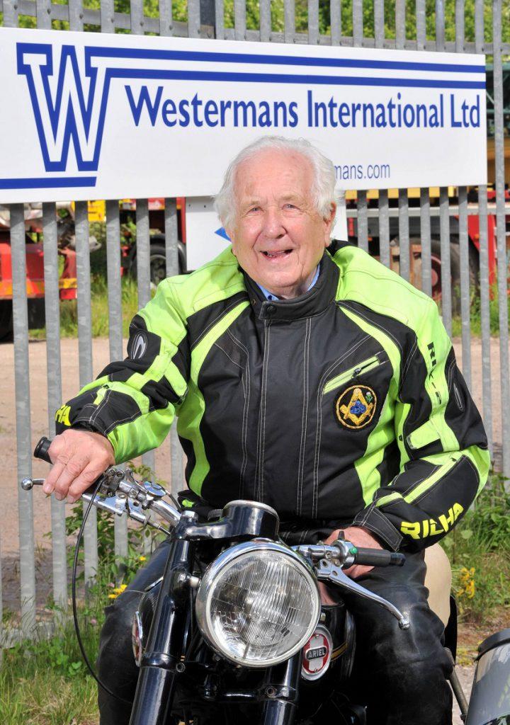 Peter Westerman biker