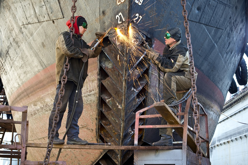 ship welding safety