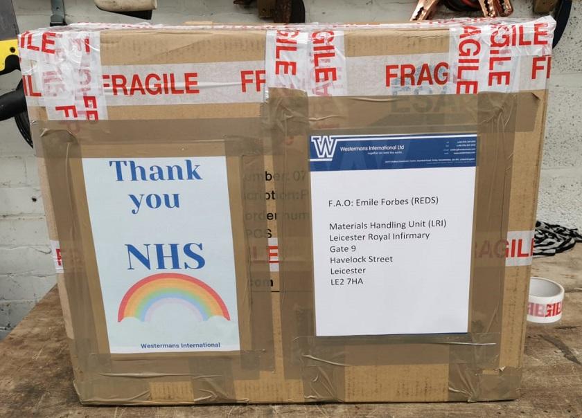 Donation to LRI NHS