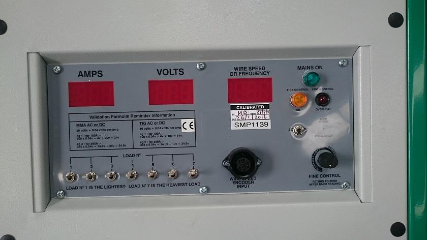 Calibrator controls