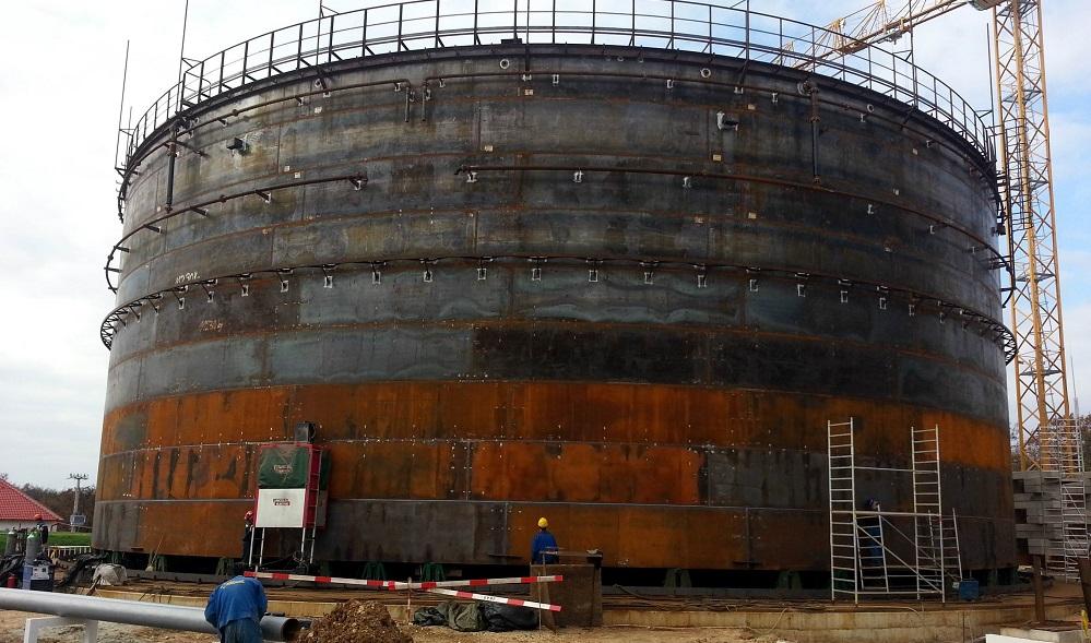 Automatic Sub-Arc Bulk Storage Tank welder