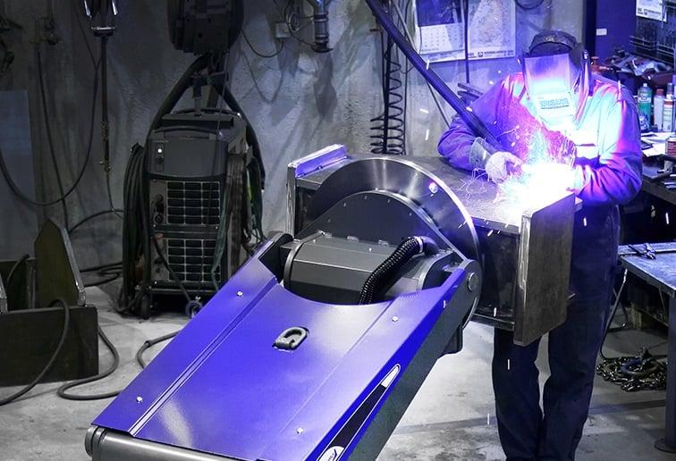 Pema Skymaster saves welding man-hours
