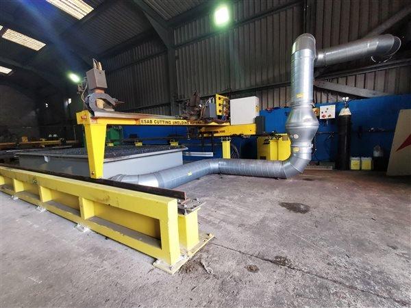 ESAB FXA CNC Plasma Cutting Table
