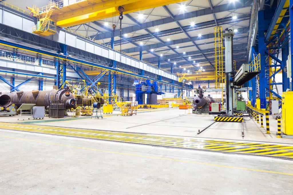 Industrial Steel Fabrication Shop