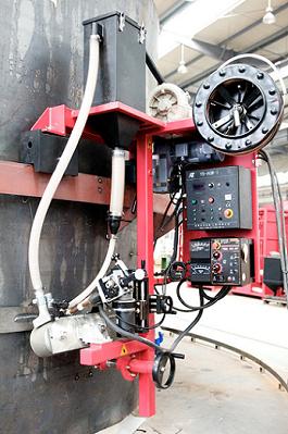 Koike AGW Girth Welding Machine with Lincoln Sub Arc