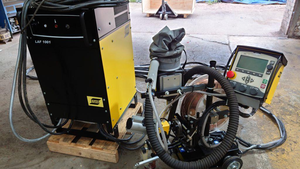 ESAB sub arc welding package