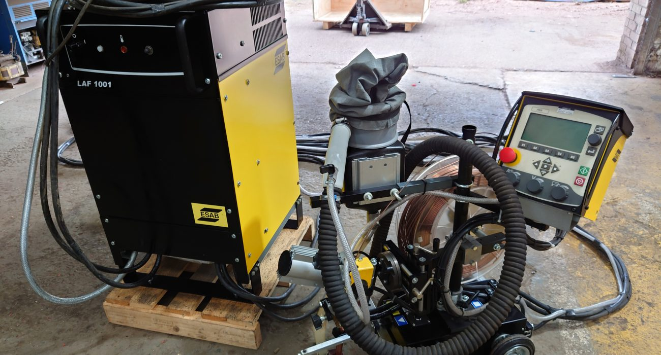 Unmissable Savings On This ESAB Submerged Arc Welding System, It's As Good As New!