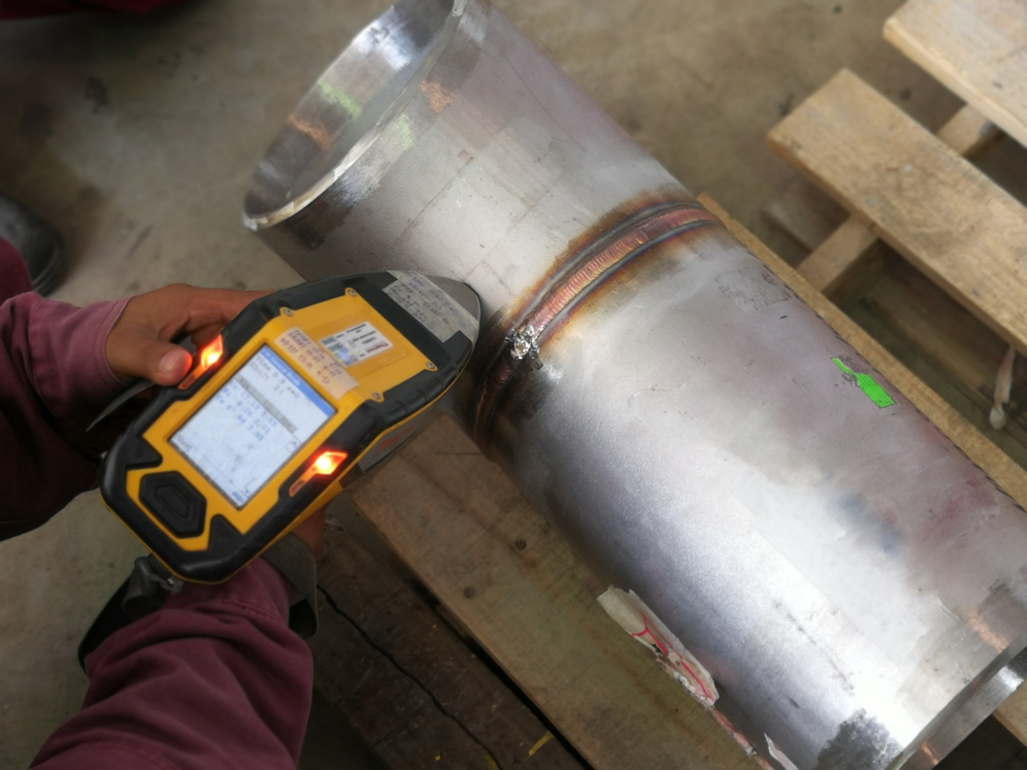 material testing for welding