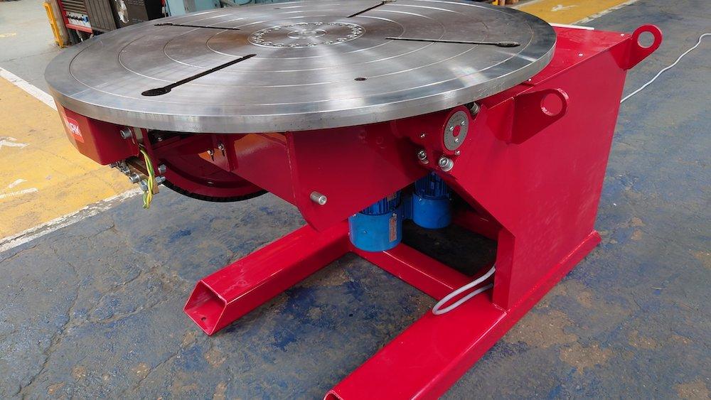 British Made 3000kg welding positioner