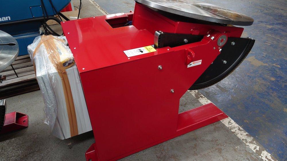 UK manufactured 1000kg welding positioner