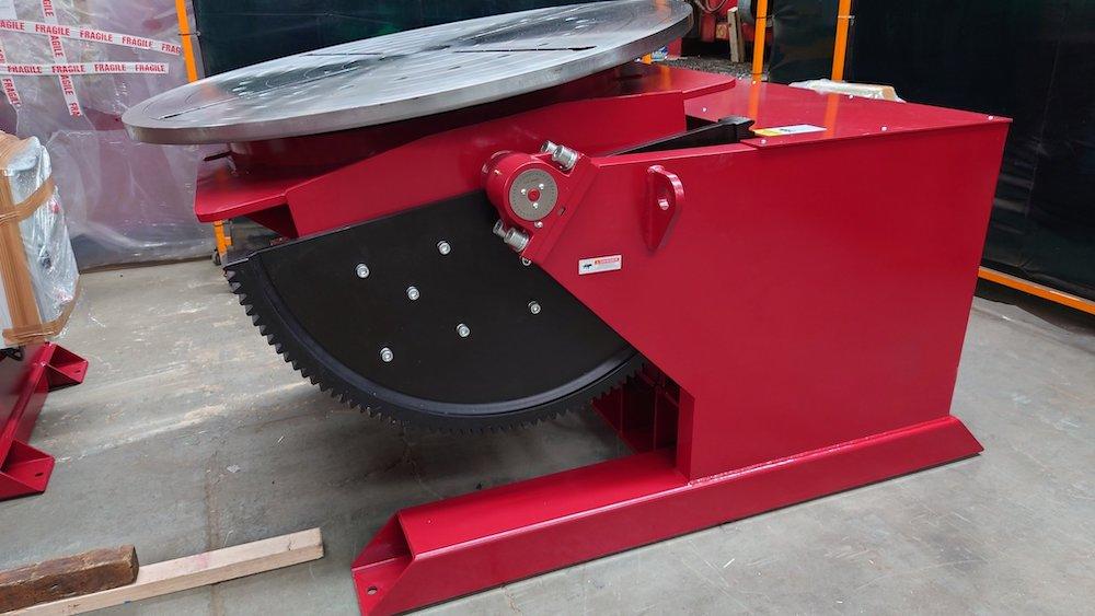 British made 5 tonne welding positioner