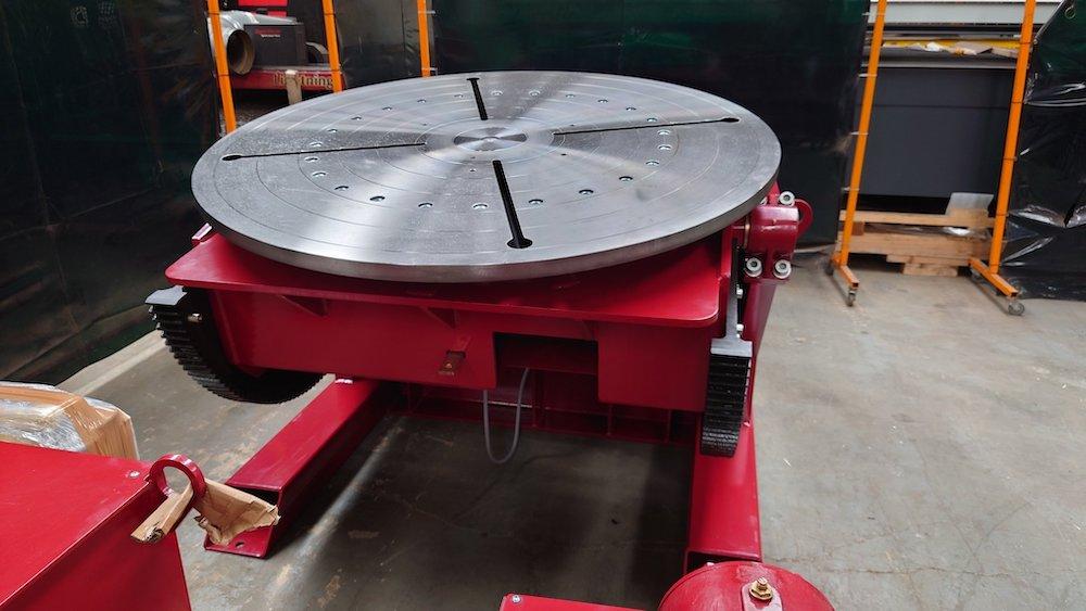 5000kg welding positioner UK manufactured