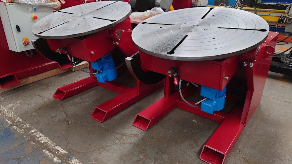 1000kg British made welding positioner