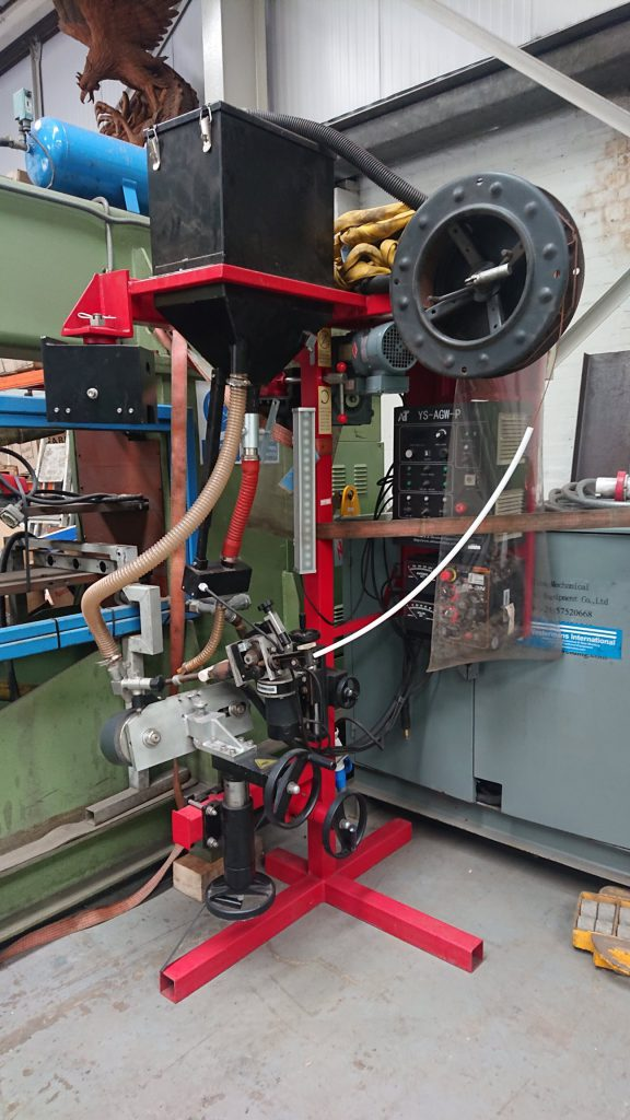 Koike AGW Tank Welding Machine