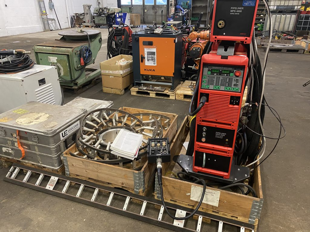 Magnatech Pipemaster orbital mig welding system for sale