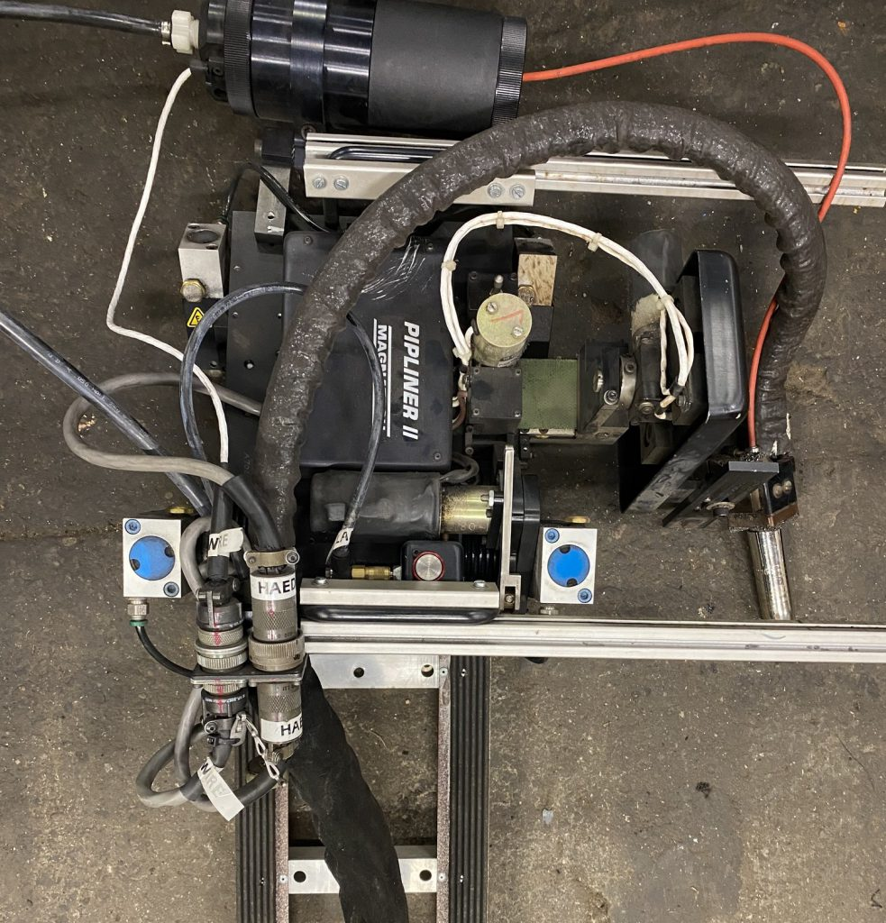 Used Magnatech Pipemaster welding system