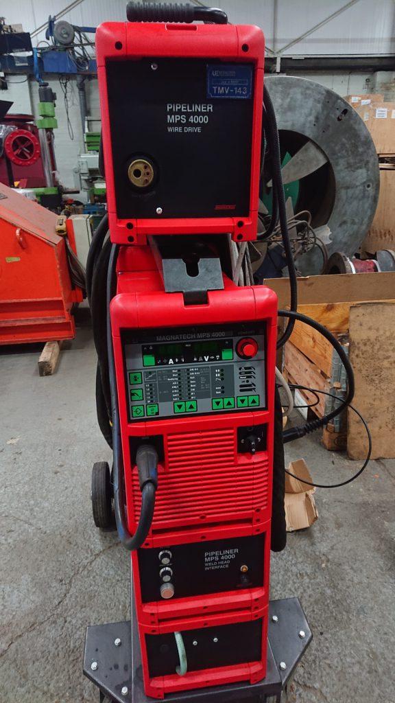 Magnatech Pipemaster MIG welding power source