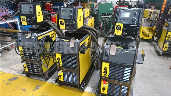 esab 5000i water cooled mig with Aristo MA6