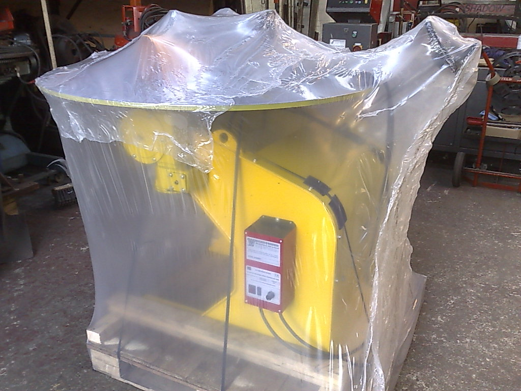 Welding Positioner sold and package ready for shipment