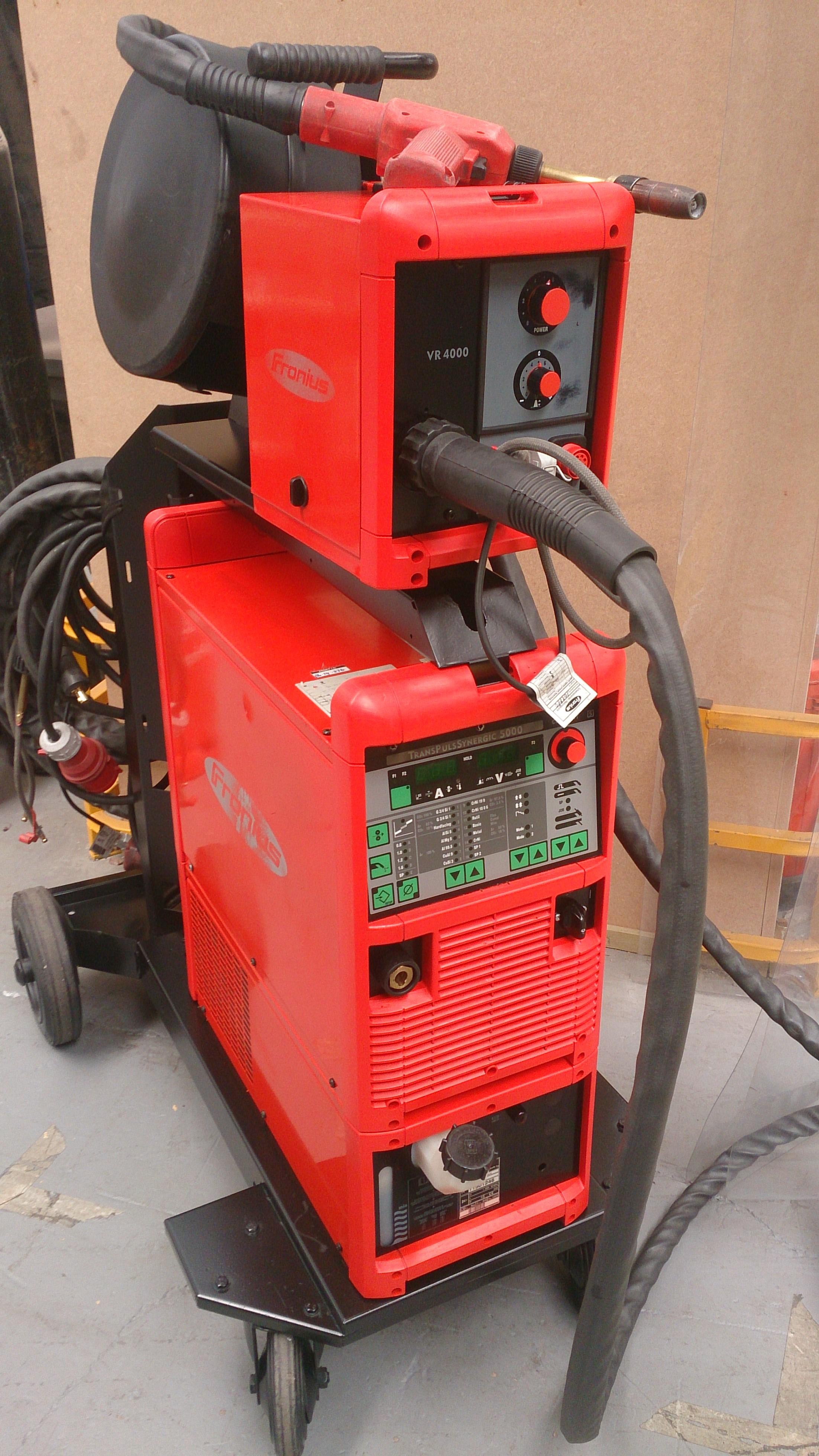 Fronius welding equipment rentals