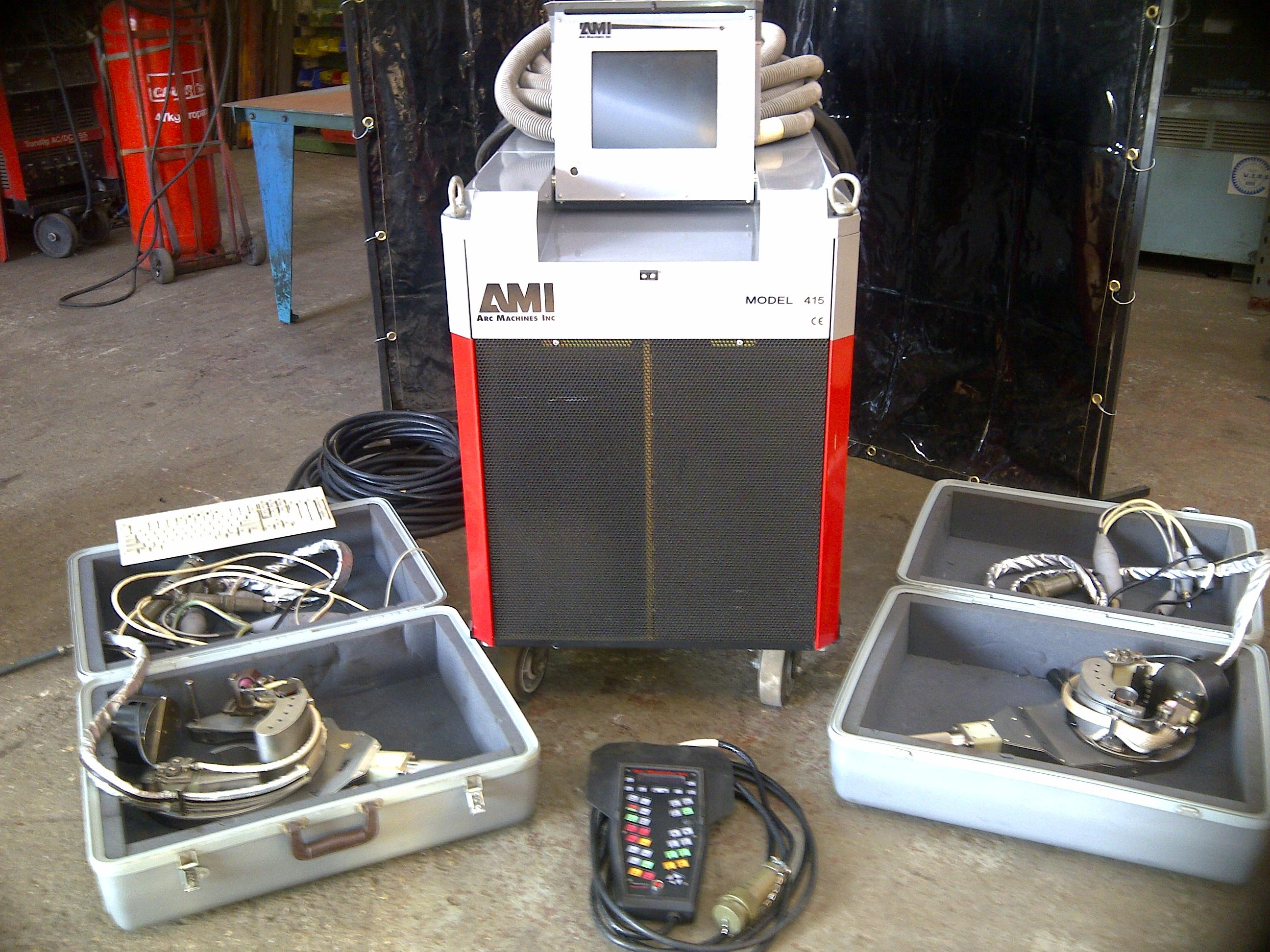 Arc Machines Inc tube to tube sheet welding