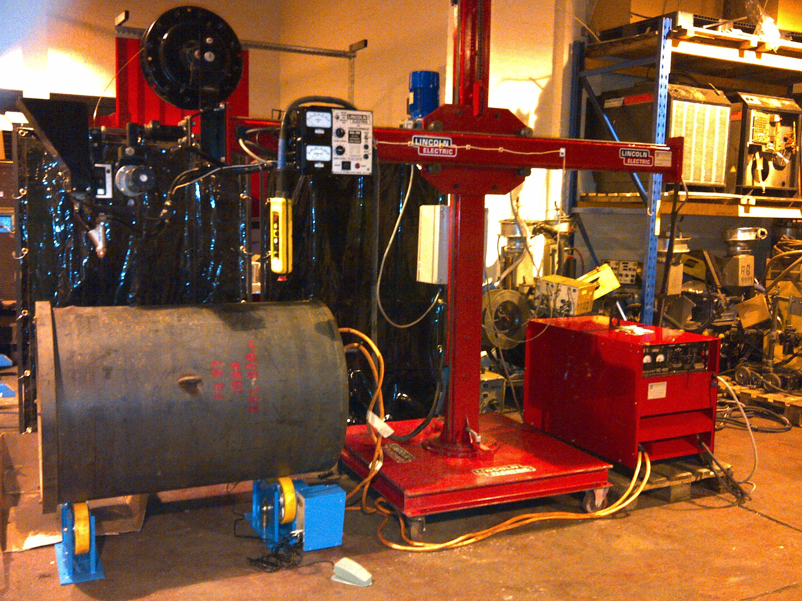 Welding Rotators, Pipe and Tank Rollers | Videos and a brief ...