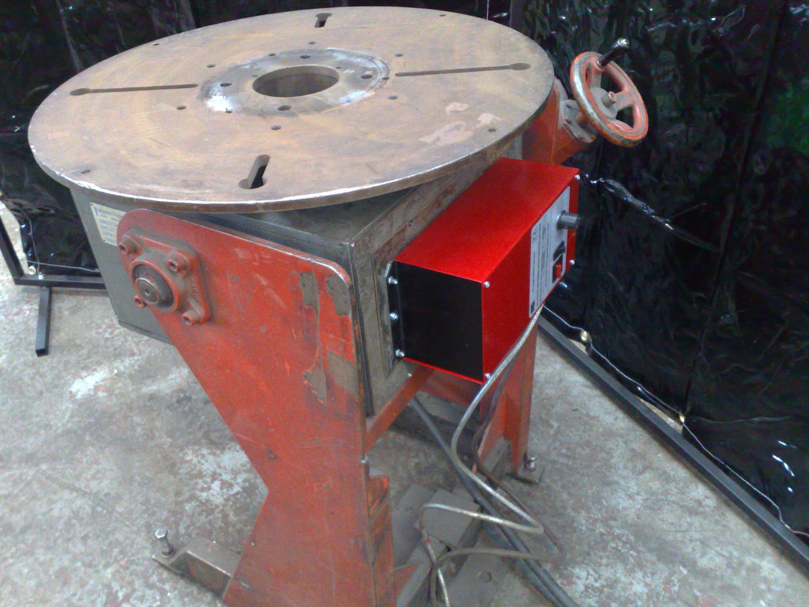 old welding positioner