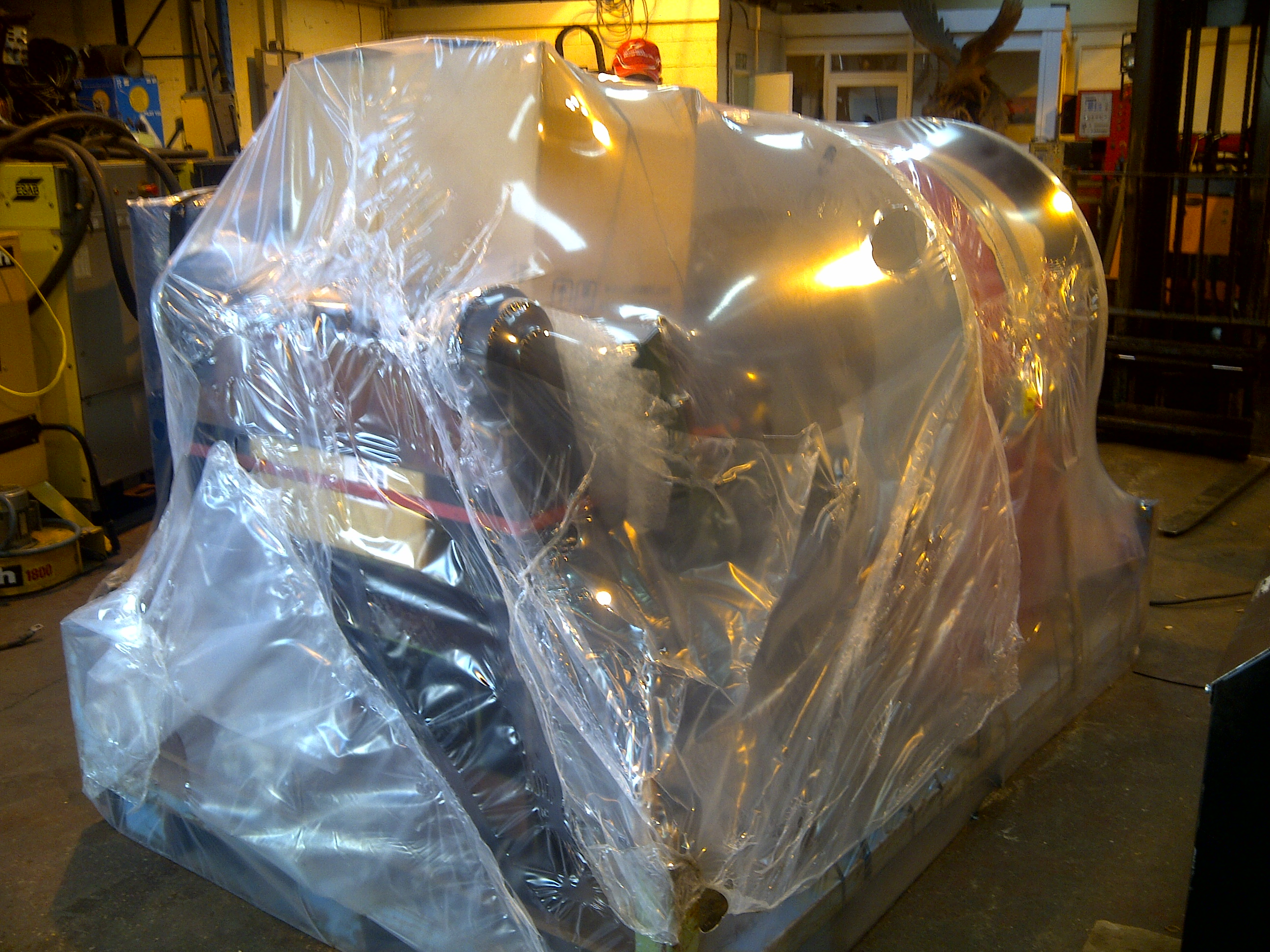 Refurbished Pipe Cutting Machine from Westermans - before