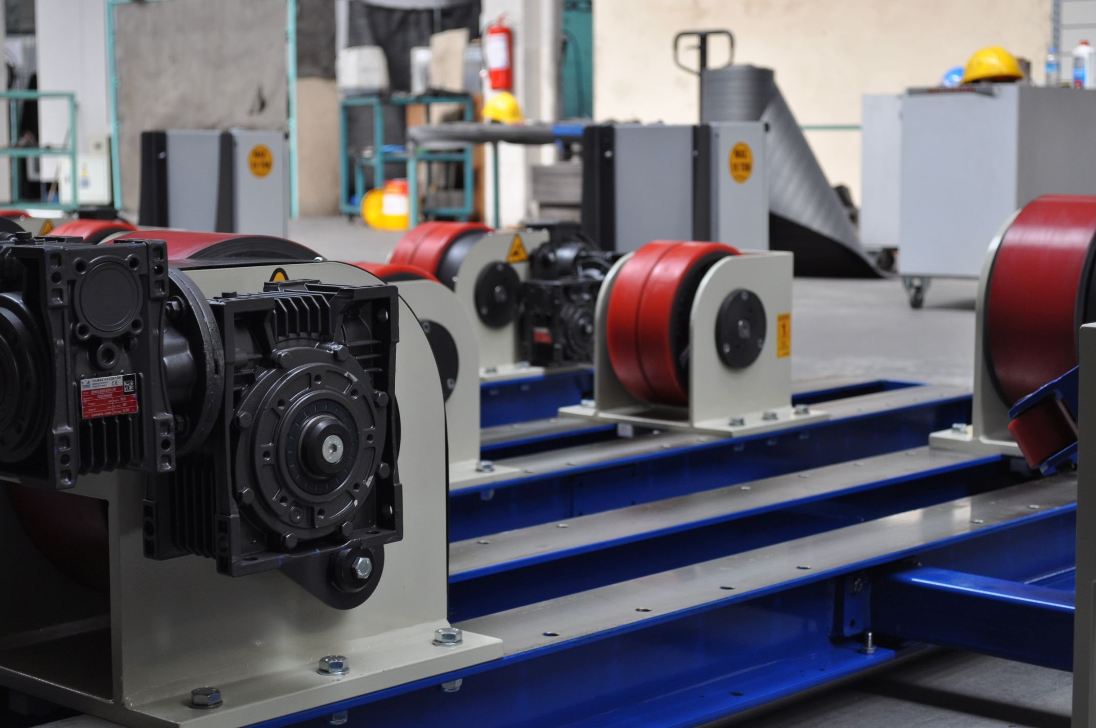 Pipe Rotators for hire