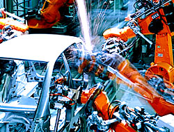 car welding robot
