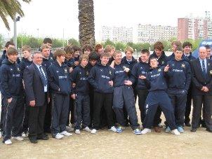 Syston rugby club under 17 team