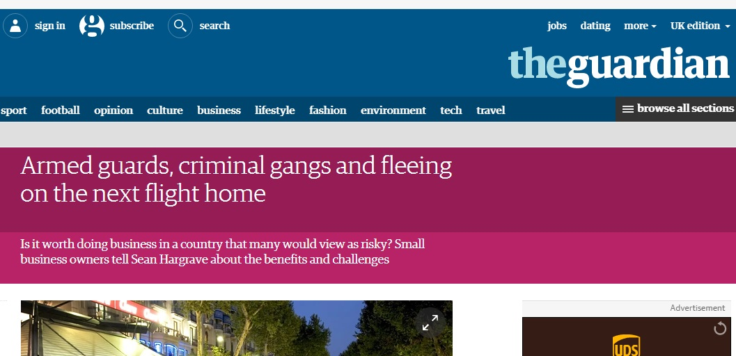 The Guardian Article