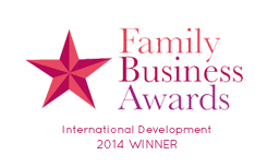 Family Business Awards International Development 2014 Winner