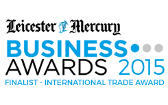 Leicester Mercury Business Awards 2015 Finalist - International Trade Award