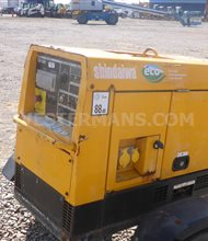 Shindaiwa ECO 300 Diesel Welder with trailer