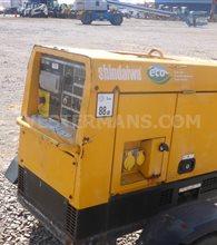 Shindaiwa ECO 300 Diesel Welder with trailer