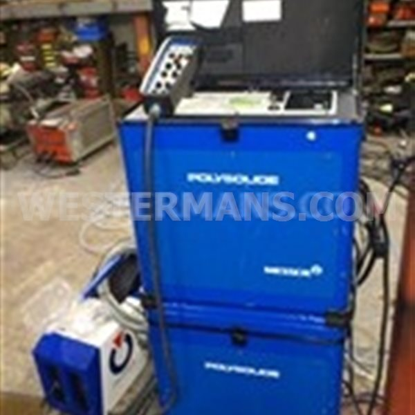 Polysoude Orbital Tig welder PS204 with RC200 Water Cooler + Open Welding Head