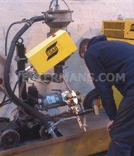 ESAB A6/A2 SubArc seam welding tractor twin head + LAF 1250