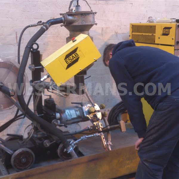ESAB A6/A2 Sub Arc seam Welding Tractor twin head or single and LAF 1250 Multi Process with PEH Controls