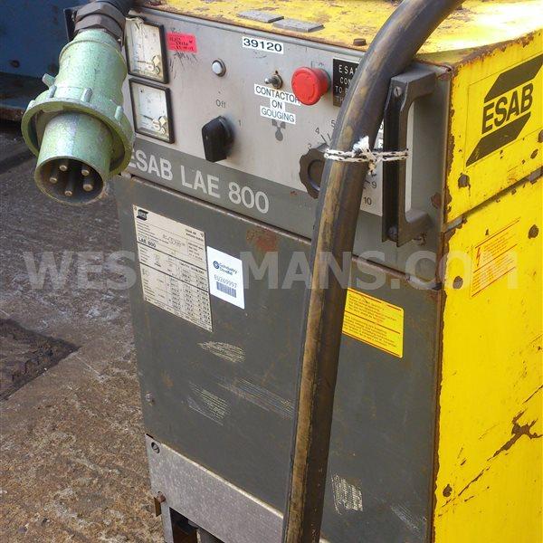 ESAB LAE 800 amp DC Multi Process - Heavy Duty Welder
