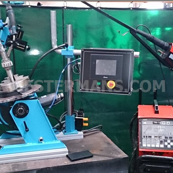 ProArc Circumferential Welding Lathe System - Fully Auto Welding Station