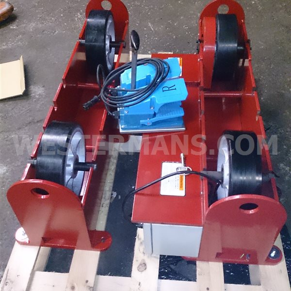 New Welding Rotators Model PR3 Pipe Rollers