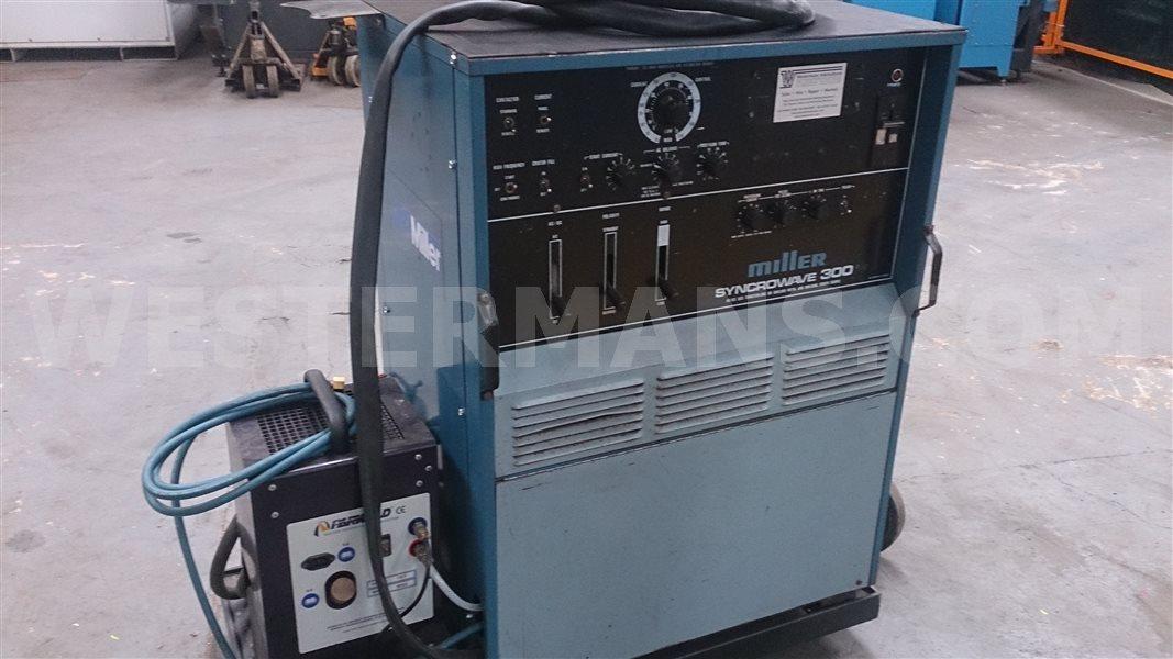 Miller Syncrowave 300 375 Ac Dc Squarewave Tig Welding Machine