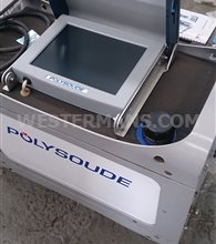 Polysoude P4 Orbital Welder with UHP1500,mu40,MU65 closed heads