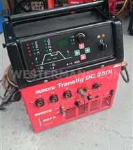Murex Transtig DC 250i Tig welder, water cooled package