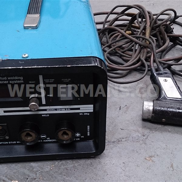 Cromparc CDM8 8mm CD stud welder for insulation pins if required