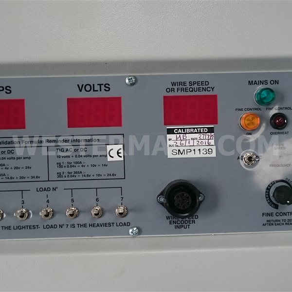 Calibrator load bank for 600 AC/DC or 1000 amps for Validation and