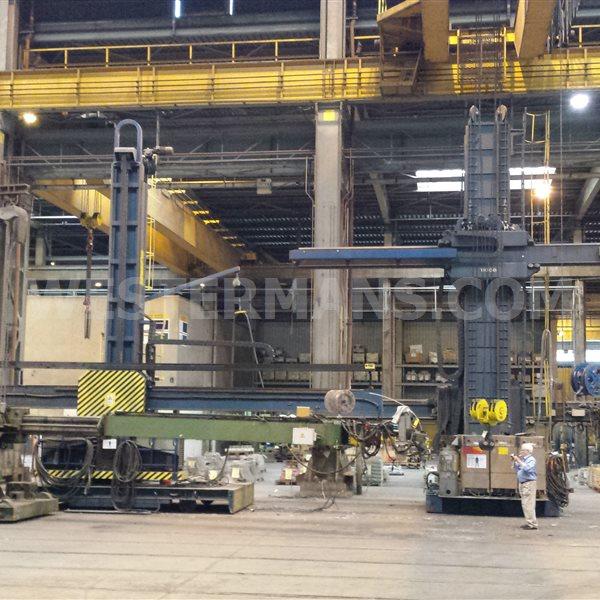 Bode Column and Boom Welding Manipulator 9.5m x 7m working height 7500m